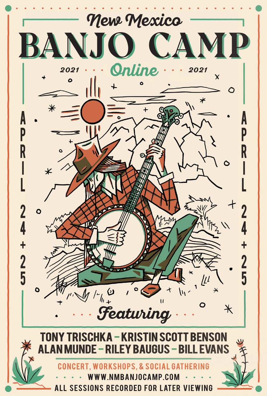 New Mexico Banjo Camp Online