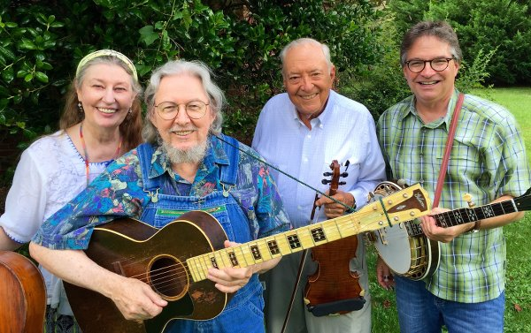 Nancy and Norman Blake, Fletcher Bright & Bill Evans, July 2015