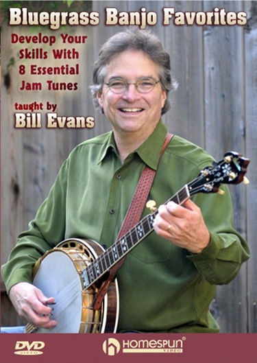 Bluegrass Banjo Favorites DVD - Develop Your Skills With 8 Essential Jam Tunes