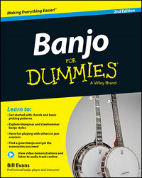 Banjo For Dummies: Book + Online Video & Audio Instruction, 2nd Edition