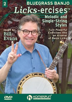 Bill Evans Banjo - Books and DVDs